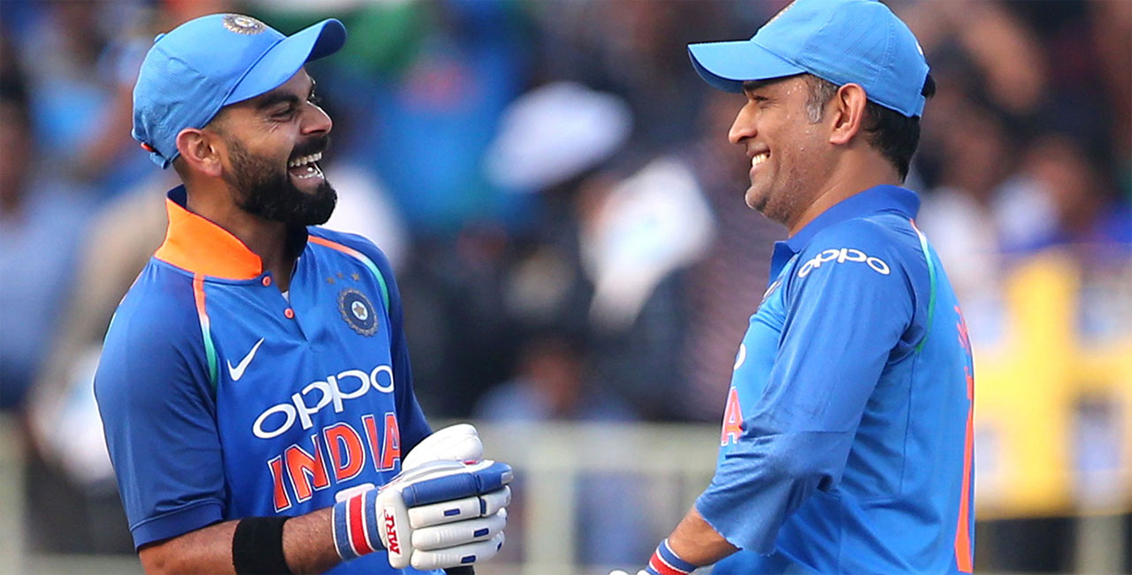 Virat missed Dhoni on the field