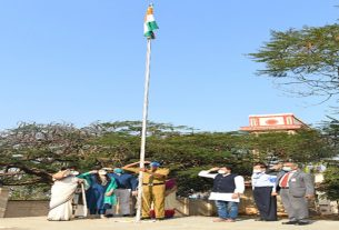 Republic Day celebrations at MIMER Medical College and Dr. Bhausaheb Sardesai Talegaon Rural Hospital