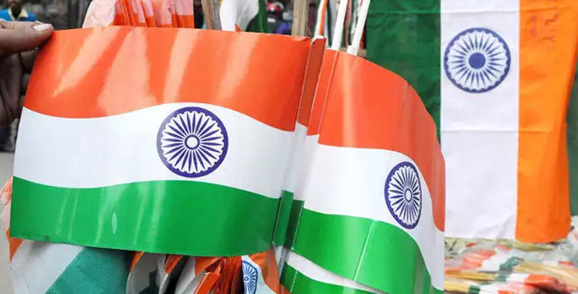 Appeal to stop using plastic, paper national flags