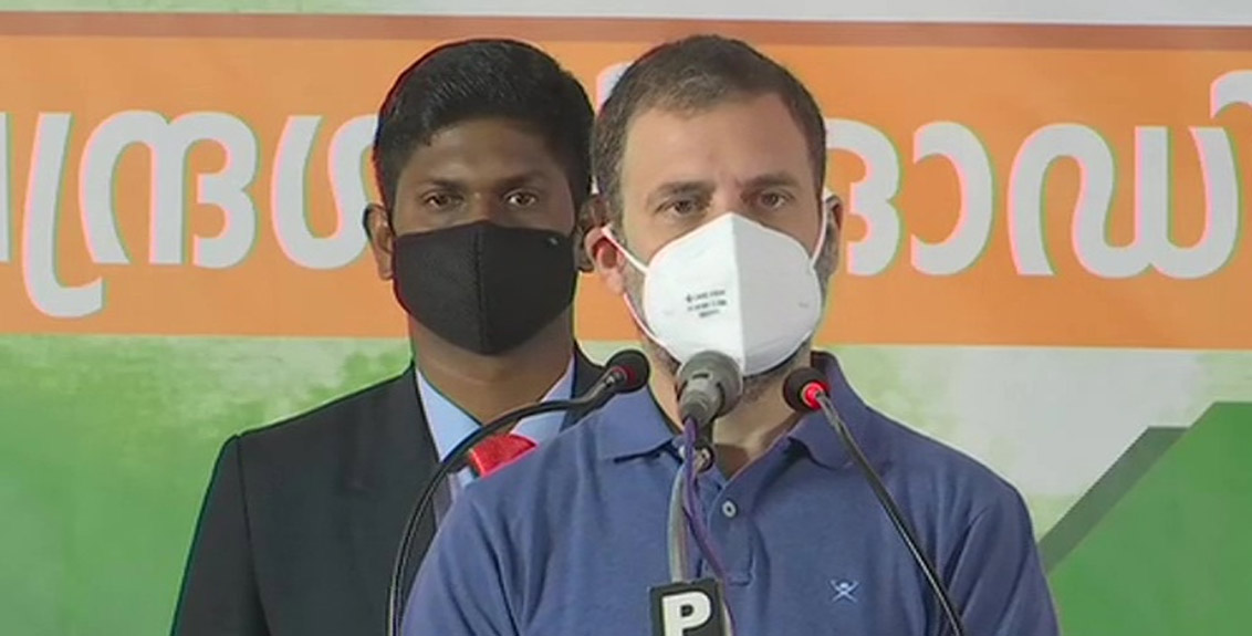 The country would be on fire, Rahul Gandhi's statement against agricultural laws