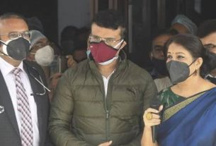 The hospital gave a big update about Sourav Ganguly