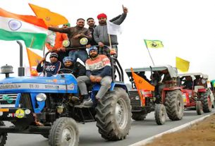 Farmers will be allowed to hold a tractor rally on January 26, agreeing to these conditions