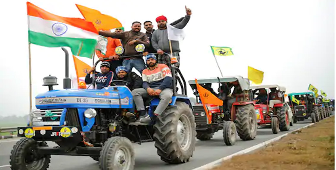 The Supreme Court rejected the demand to stop the farmers tractor rally
