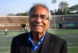 Veteran tennis player and former Davis Cup coach Akhtar Ali dies