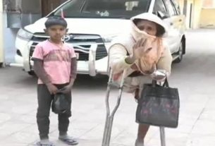 The police demanded a bribe from the disabled mother to find her girl