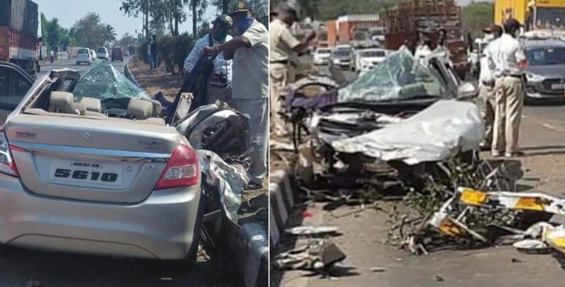 Four killed in Pune-Bangalore National Highway accident