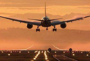 Ban on international passenger flights