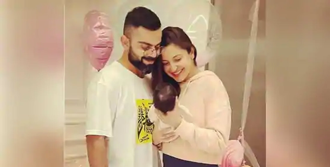 Anushka Sharma shares name and first photo of daughter with Virat Kohli