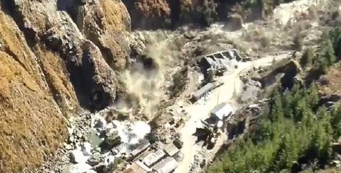 Now the Uttarakhand tragedy does not endanger the surrounding villages