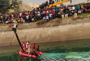 Madhya Pradesh bus accident: The bodies of 42 out of 54 passengers were recovered