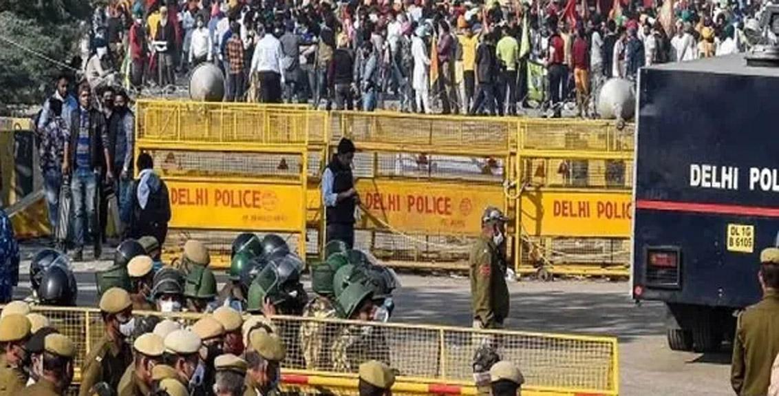 farmers road blockade