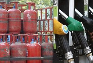 Prices of domestic gas cylinders and petrol-diesel increases