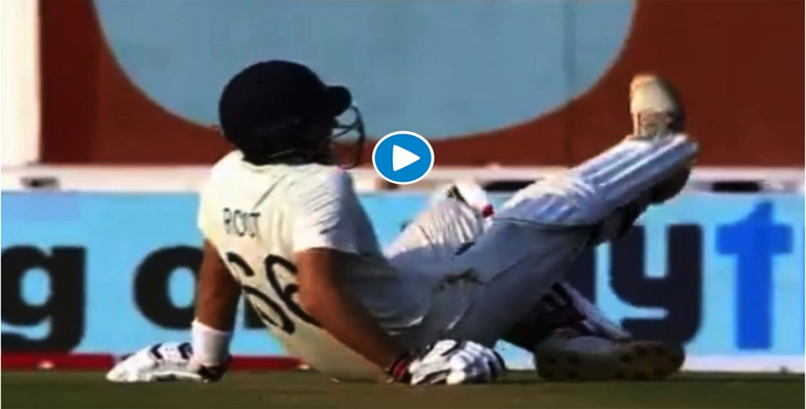 Ind vs eng: Joe Root collapsed on the field as he could not bear the pain