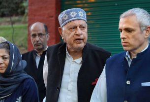 omer abdullah and farooq abdullah under house arrest