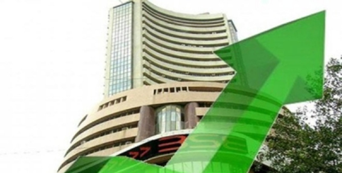 The Sensex today hit a record high of 52,000 points