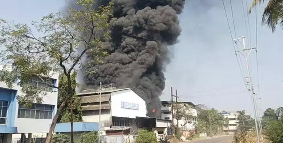 Fire engulfs Taloja MIDC, spreads to surrounding companies