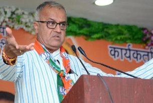 BJP MP Nandkumar Singh Chouhan dies due to corona