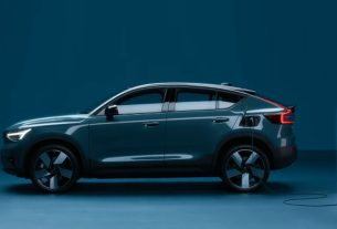 Volvo C40 Recharge Fully-Electric Coupe SUV Unveiled with 420 kms range