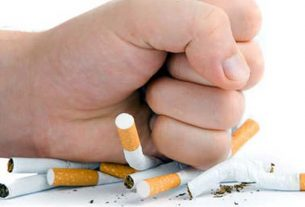 Cigarette smoking is very harmful to health
