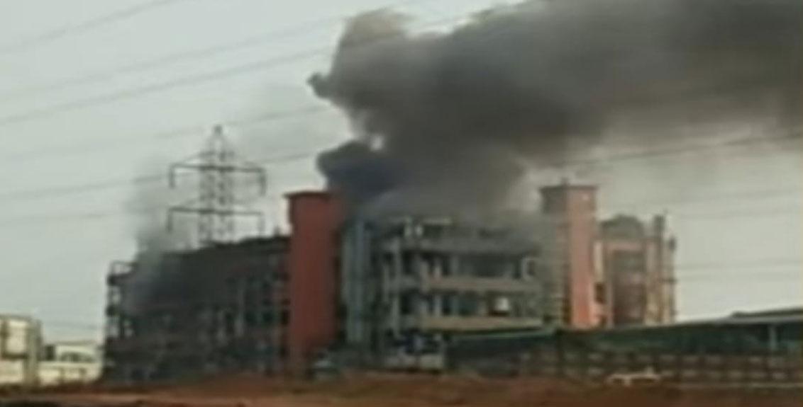 Explosion at Gharda Chemical Company in Lotte MIDC, Ratnagiri