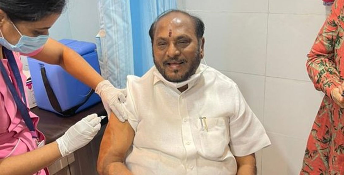 Ramdas Kadam infected with corona
