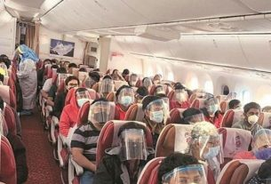 Strict action will take if corona rules are not followed during air travel