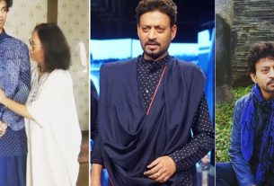 babil khan borrows irrfan khan clothes for filmfare awards 2021 and accepted irrfan's awards