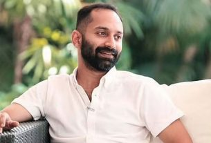 Famous actor fahadh faasil was injured when he fell from a height while doing a stunt