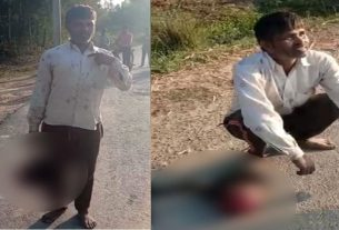 father strangled her 18 years old daughter in hardoi uttar pradesh