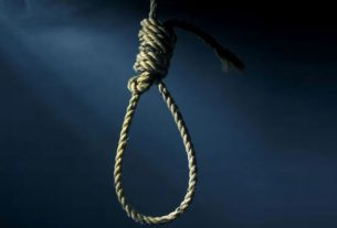 Woman dies while pretending to hang herself to scare husband