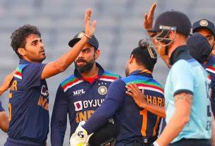 india vs england 3rd odi india won match against england by 7 runs