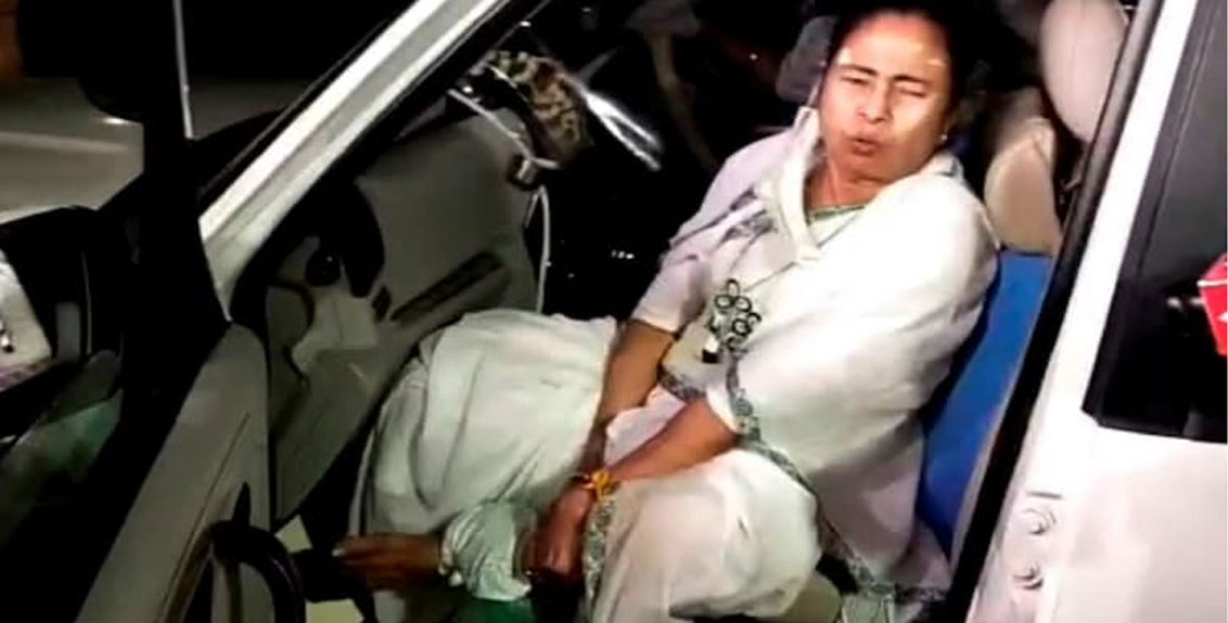Mamata Banerjee was not attacked, Election Commission decision