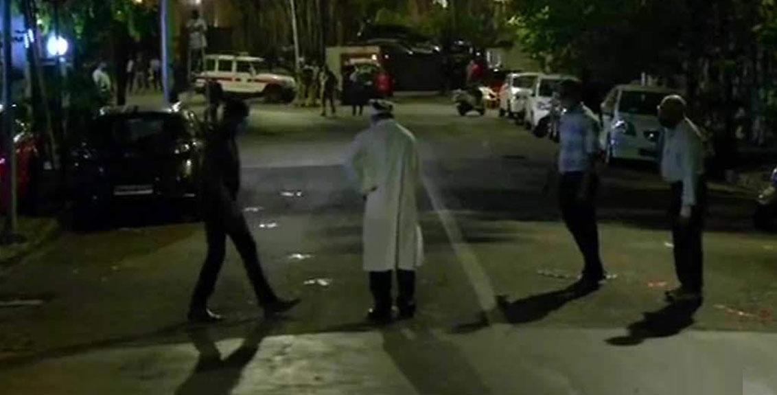 NIA recreates scene, Vaze made to walk wearing oversized kurta