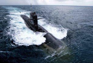 made in india scorpene class submarine INS Karanj joined the Navy