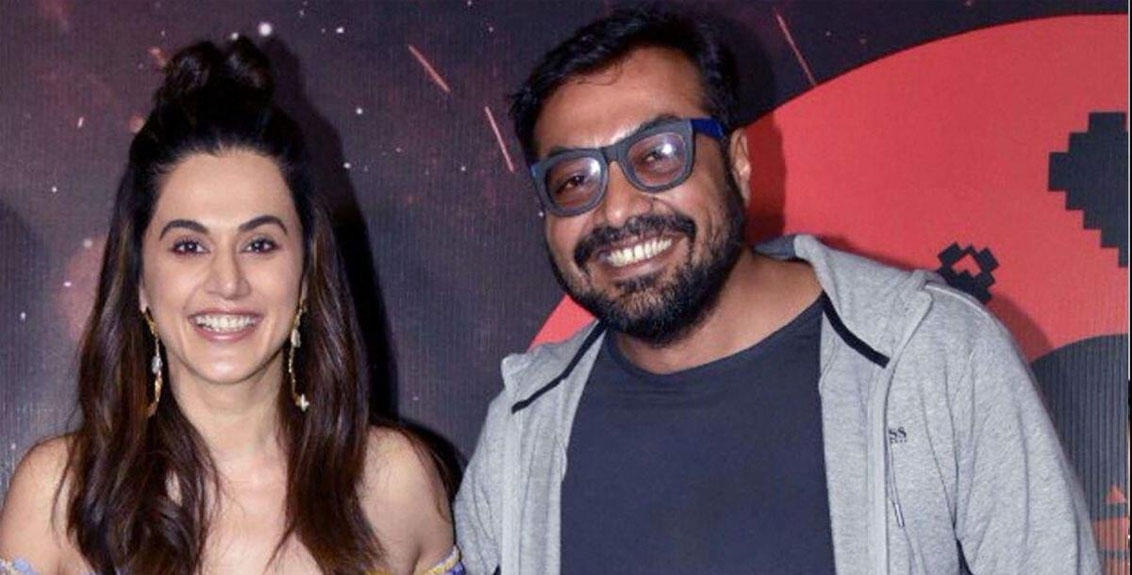 Income tax department raids the homes of actress Tapsi Pannu and director Anurag Kashyap