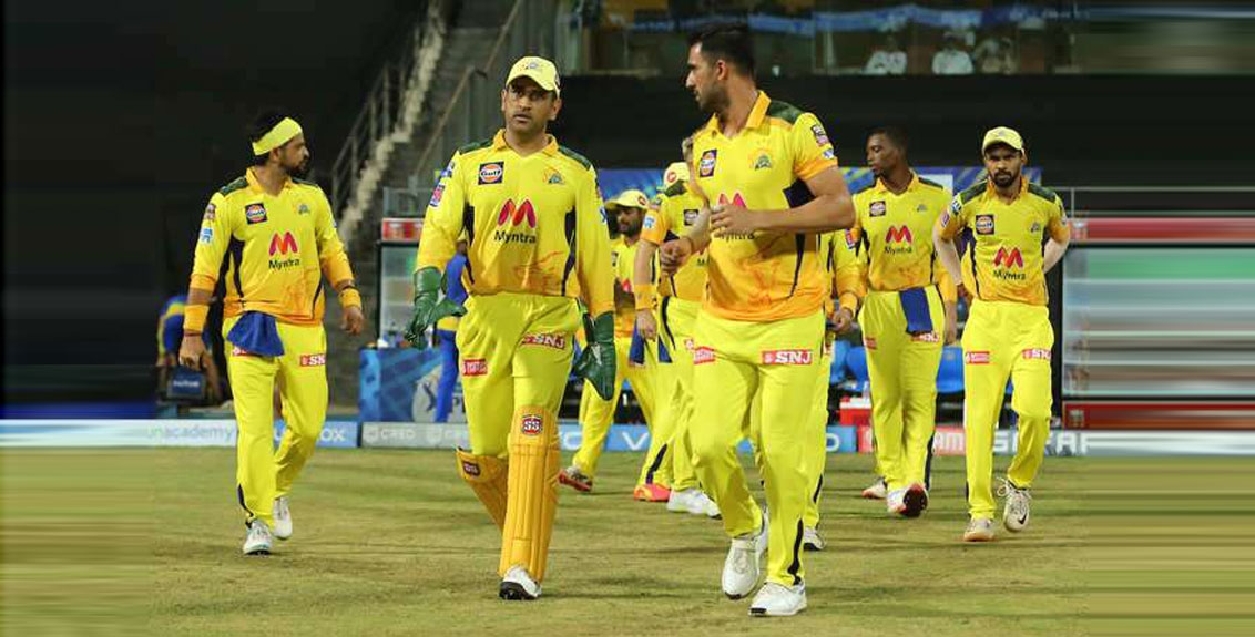 Chennai Super Kings Took 1st Position In Points Table