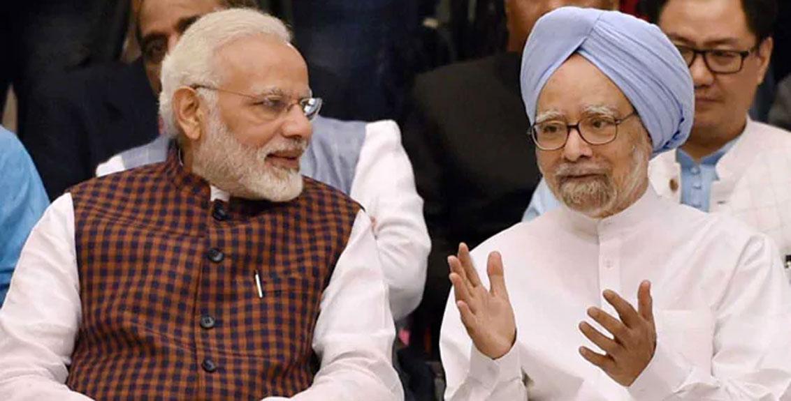 Former PM Dr manmohan singh writes pm modi