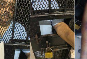Mehul Choksi's photo inside the jail goes viral on social media