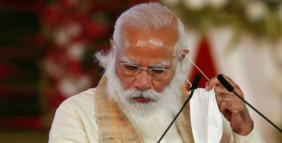 pm modi video of saying we should focus on increasing corona positive cases goes viral