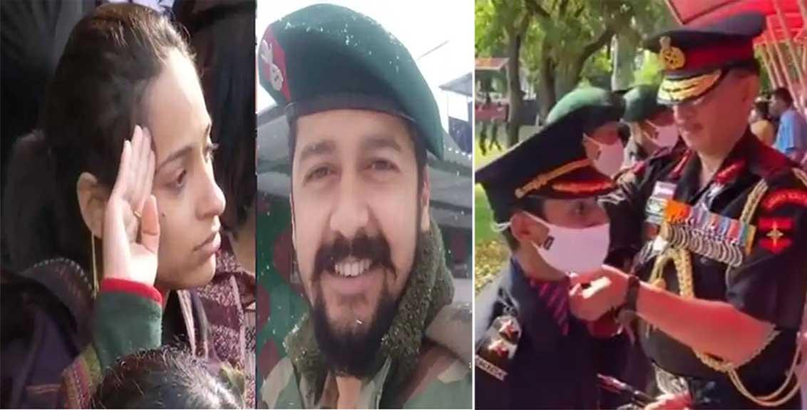 nikita vibhuti dhoundiyal joins indian army