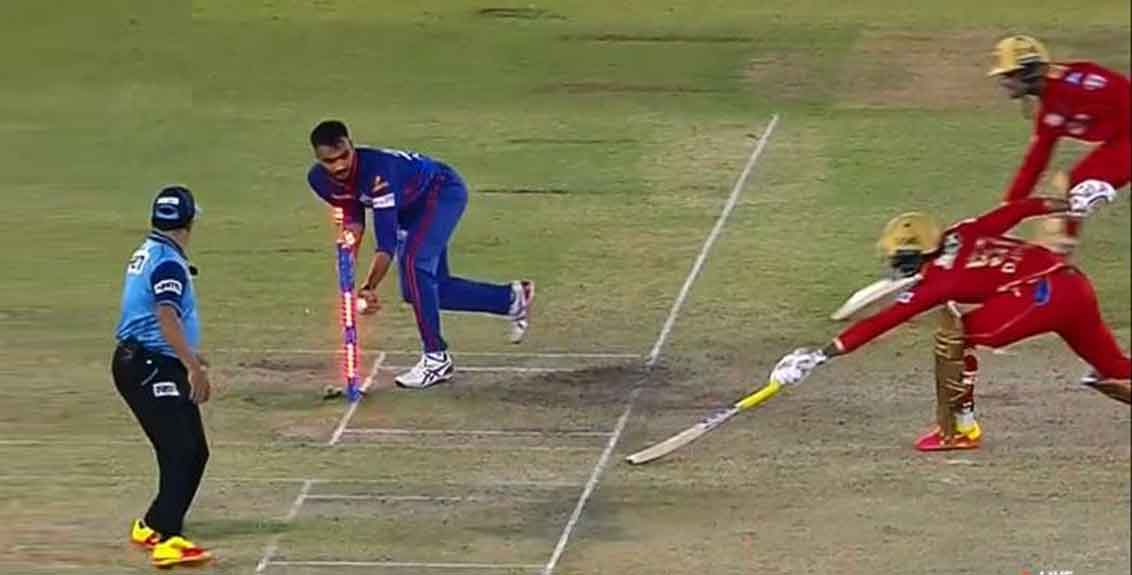 Horrible mixup between Mayank Agarwal and Deepak Hooda both reached the non striker's crease