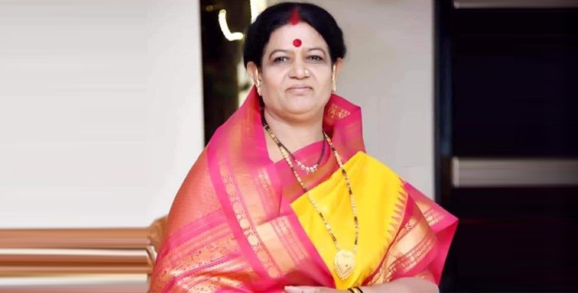 Shiv Sena Nashik Corporator Satyabhama Laxman Gadekar