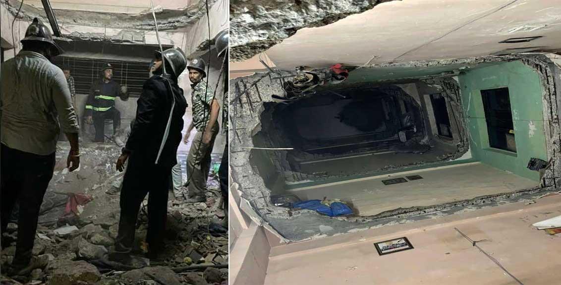 5 killed in Ulhasnagar building slab collapse