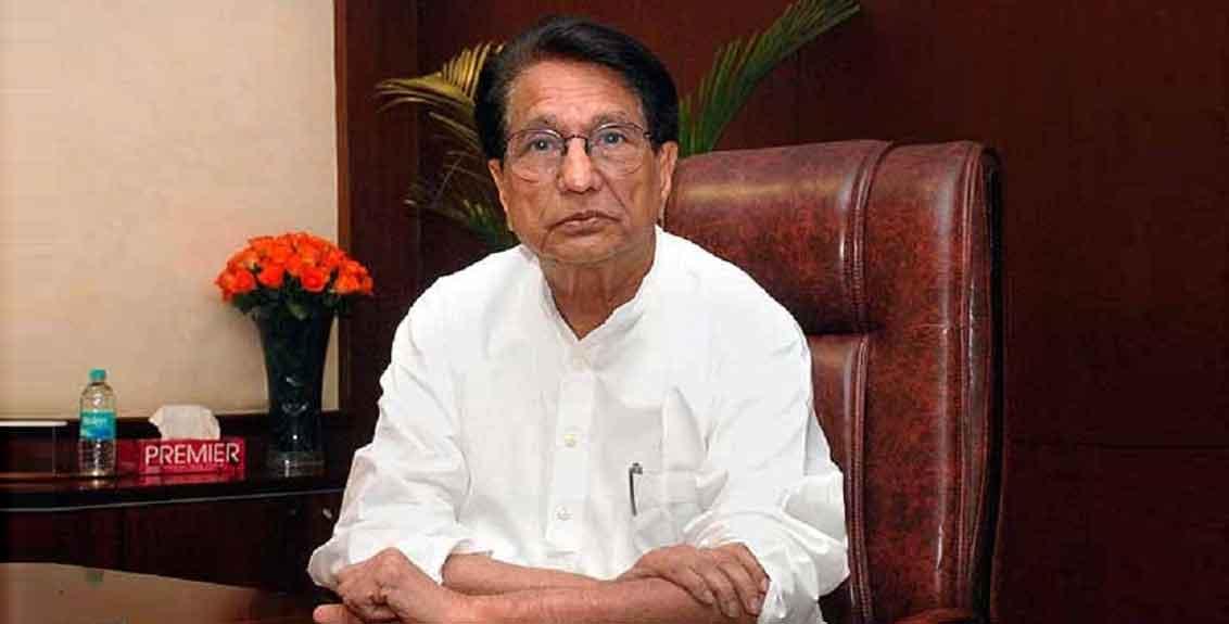 Rashtriya Lok Dal chief Chaudhary Ajit Singh