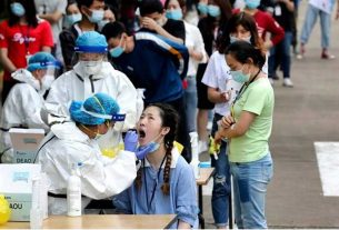 coronavirus returns in china reported a sudden surge of covid19 cases in guangdong province lockdown imposed in the area