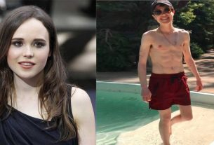 hollywood actress becomes male after a transgender surgery and shares picture in abs