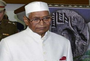 Former Rajasthan Chief Minister Jagannath Pahadia dies due to corona