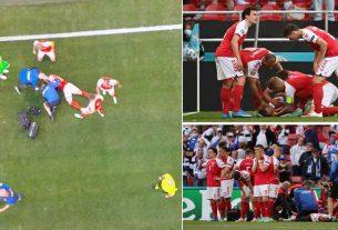 Christian Eriksen Collapsed During Denmark Vs Finland Match