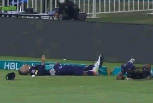 Faf du Plessis Taken to Hospital After Horrific Collision with Mohammad Hasnain While Fielding