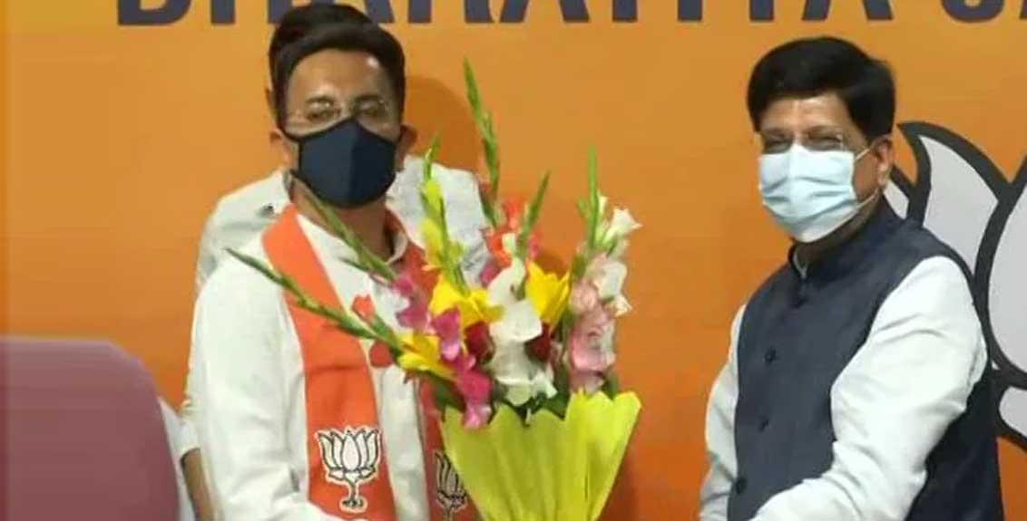 Veteran Congress leader Jitin Prasad joins the BJP